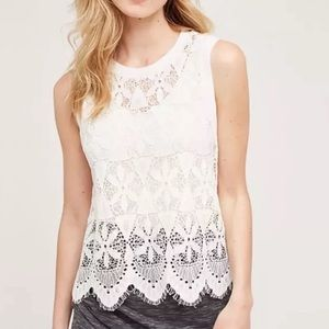 Anthropologie Lace Blouse